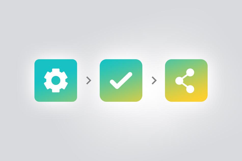 Ein neuer Workflow für das Erstellen und Einladen