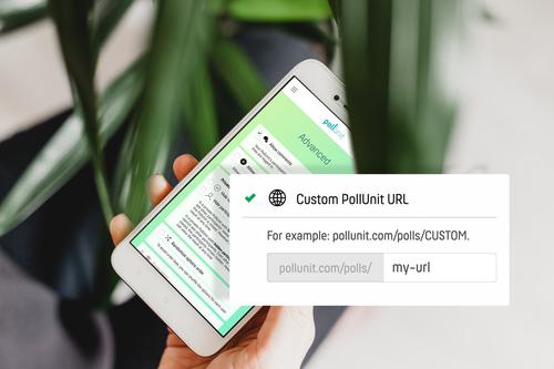 Benutzerdefinierte URLs für Deine PollUnits